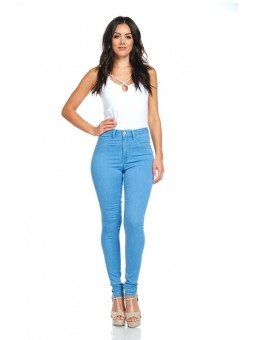 Women's High Rise Basic Super Stretch Skinny Jeans