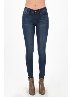 Hammer Skinny Jeans. Dark Wash With Soft Fading . 5-Pocket Styling.