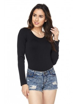 Love Michelle Seamless Long Sleeve Bodysuit