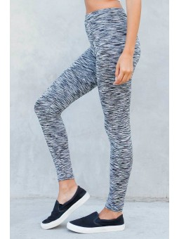 Abstract Printed Active Yoga Leggings