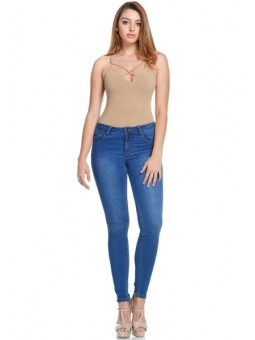 Women's Low Rise Basic Skinny Denim Jeans