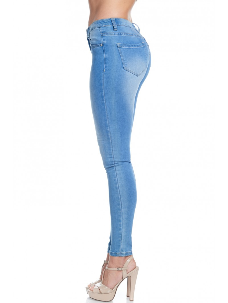 Crazy in Love Low Rise Skinny Jeans