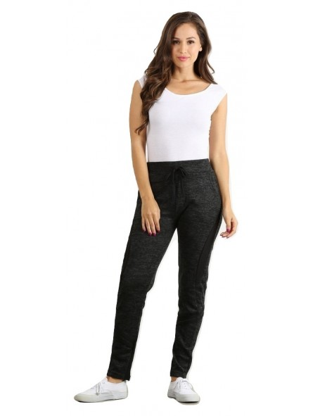 Basic Jogger Slim Fit Jogger Pants With Waist Tie And Side Pockets.