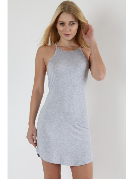 Sleeveless Tunic with Back Tie