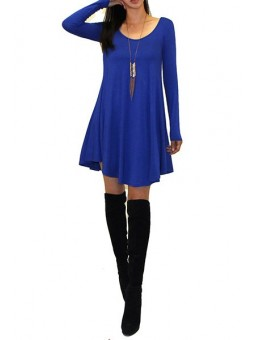 Tunic Loose V Neck Dress